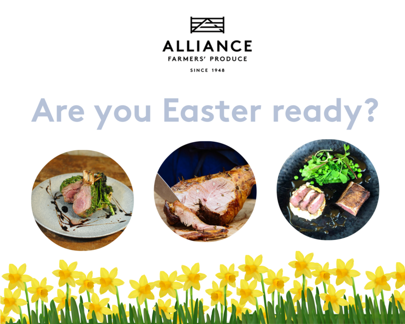 Easter is just around the corner but are you ready? We have a variety of cuts available for your special menus! Get in touch with our foodservice team at foodservice@alliancenz.co.uk for more information regarding our Easter cuts #easter #easter2019 #lamb #newzealand #NZlamb