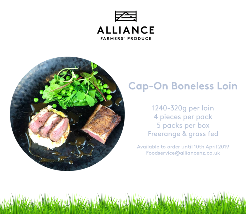 The loin is one of the most tender & lean cuts of lamb. It's great for grilling or roasting. Get in contact with one of our Foodservice team members today by emailing us at foodservice@alliancenz.co.uk to order in time for Easter #Easter2019 #Easter #PureSouth #NewZealand