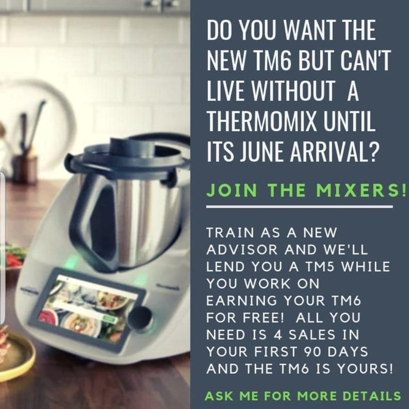 New Thermomix model launching in June earn or preorder message me for more details or email mirandagodfreyfood@gmail.com