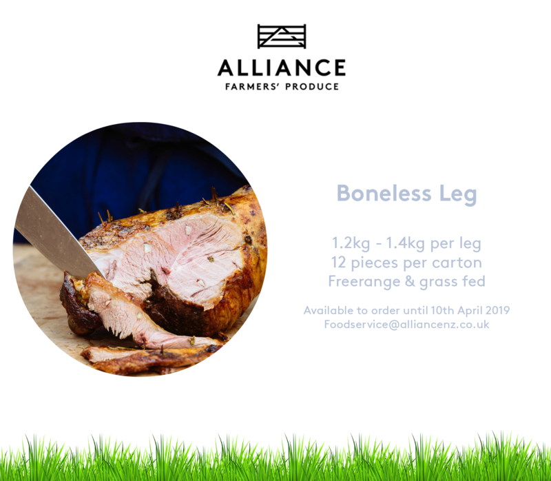 A leg of lamb is a great cut to slow roast and have for a Sunday dinner. Get in contact with one of our Foodservice team members today by emailing us at foodservice@alliancenz.co.uk to get your lamb legs delivered in time for Easter :sheep: