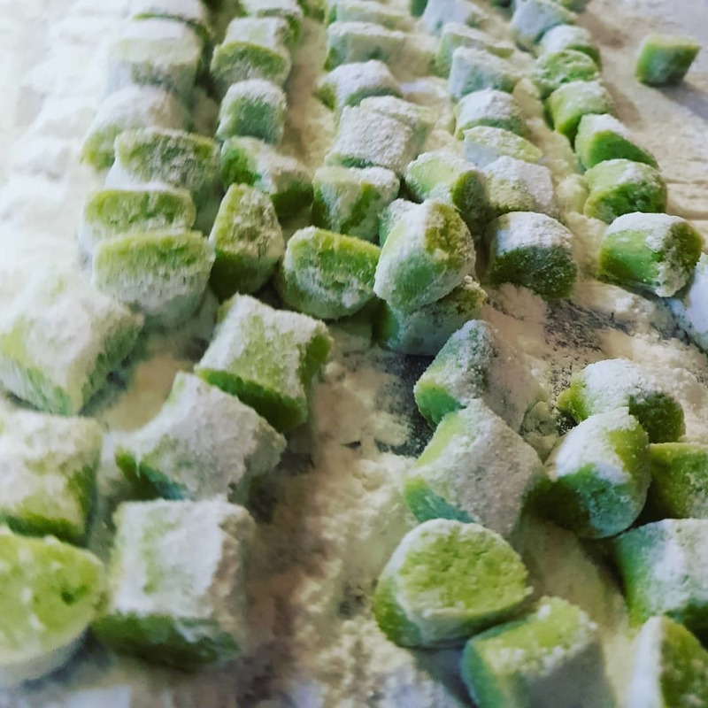 Vegan g.f. Sting nettles Gnocchi on the Go!