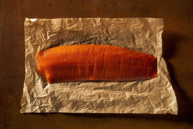 Smoked Salmon Whole Side Vertical Cut. Expect a taste experience that defies convention