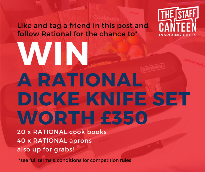 Check out the RATIONAL UK Facebook competition running now on TheStaffCanteen and RATIONAL.GB pages!