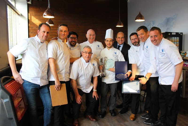 Master Chefs of Great Britain names London Hilton Park Lane's Julien Piveteau  Young Pastry Chef 2019 - 1