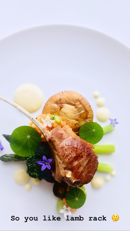 Lamb and spring veg