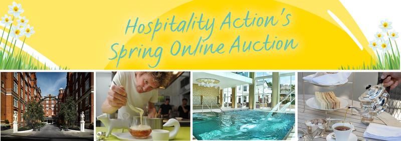 Spring has sprung: Hospitality Action's Online Auction now open