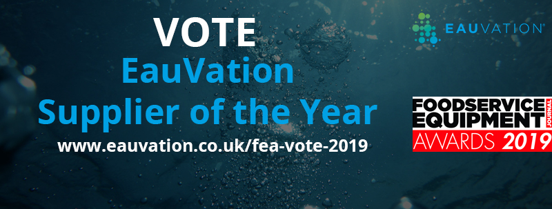 Less than one week left to vote for EauVation for 'Supplier Of The Year 2019'. Read about the nomination on our blog and vote for us today!