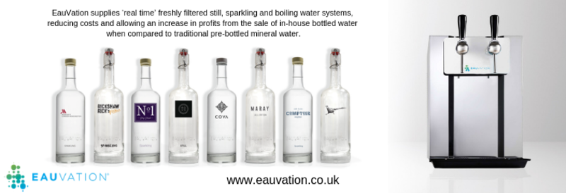 Serving great water isn't simply just about the water, in fact, it's also to do with the presentation of the bottle.