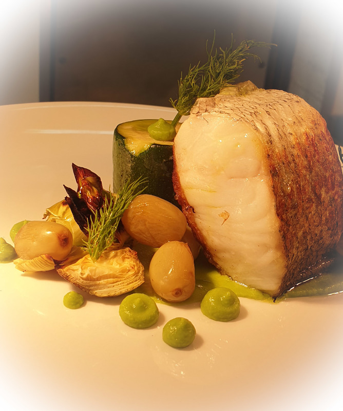 Lunchtime Hake fillet