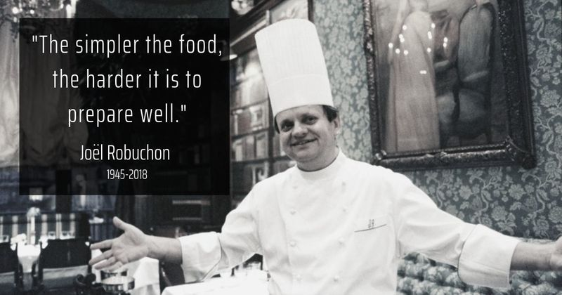 Remembering Robuchon: 10 quotes from the man with the most Michelin stars in history