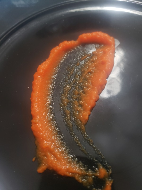 could someone help me with a recipe for a gel carrot sauce