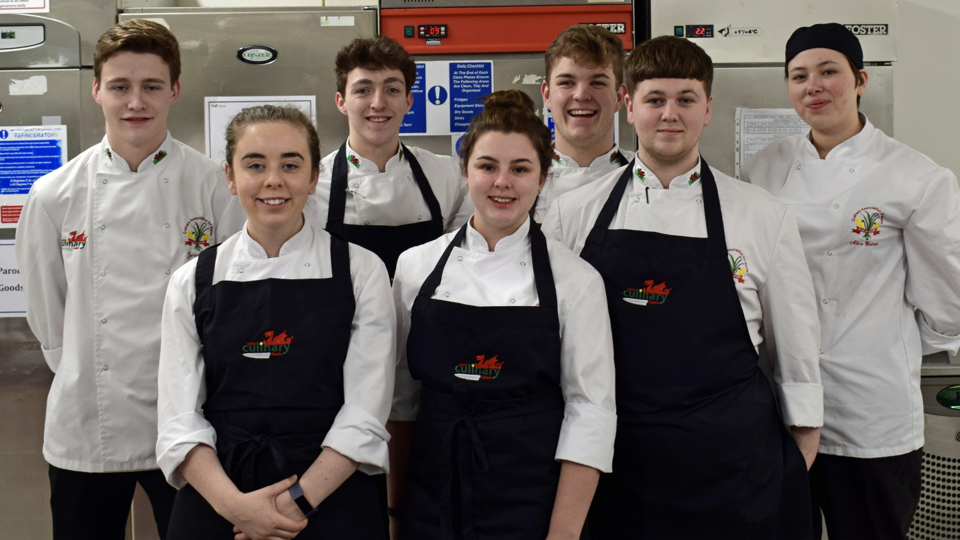Two teams of chefs to represent Wales at the Culinary Olympics - 1