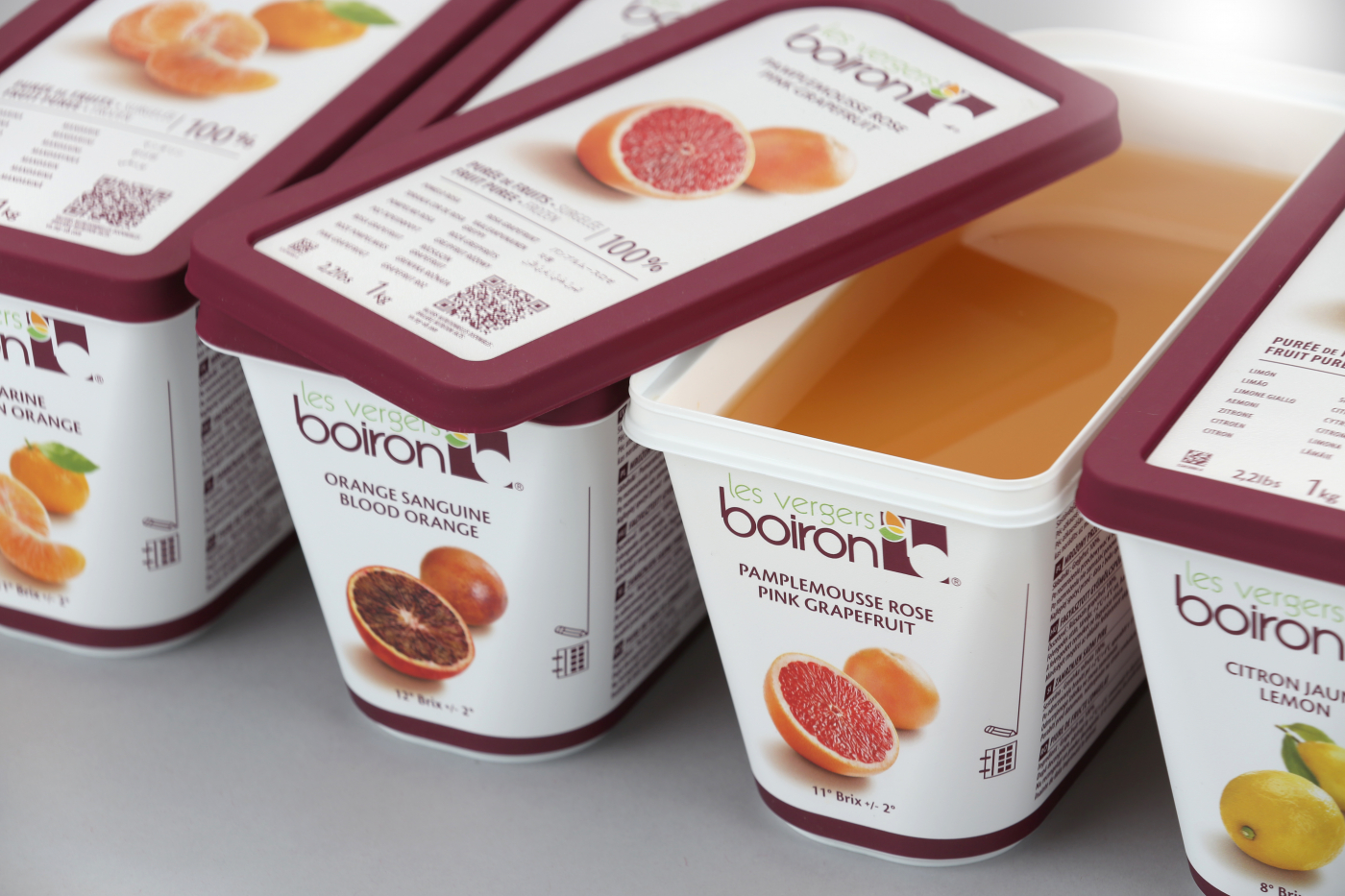 LES VERGERS BOIRON EXTENDS NEW TRAY ACROSS THE FROZEN PUREE RANGE