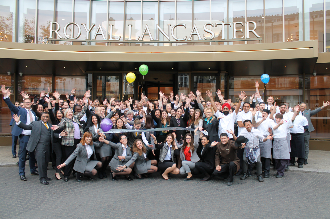Royal Lancaster London Awarded 50th Position  The Sunday Times 'Top 100 Companies to Work