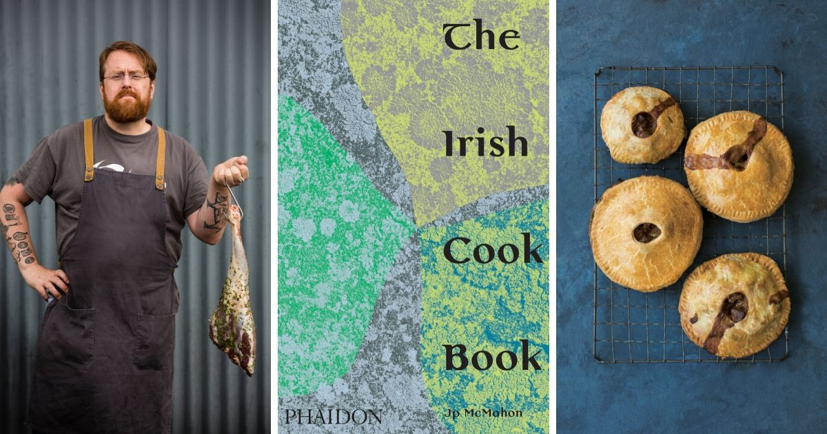 Jp McMahon to celebrate The Irish Cookbook launch with talk and demonstration at Le Cordon Bleu