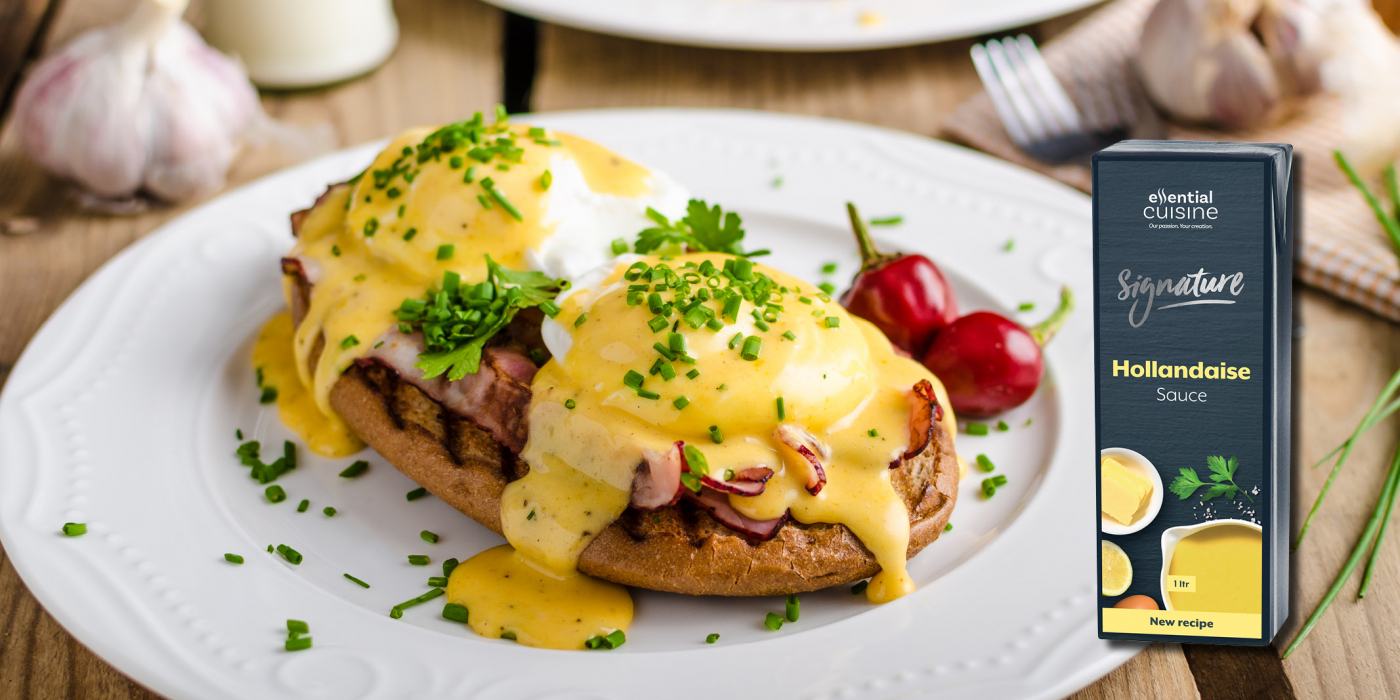Eggs Benedict☀️ What better way to start the day? https://www.essentialcuisine.com/recipes/eggs-benedict/