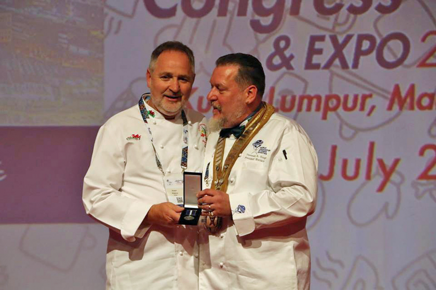 Wales invited to host prestigious event for world's top chefs next year