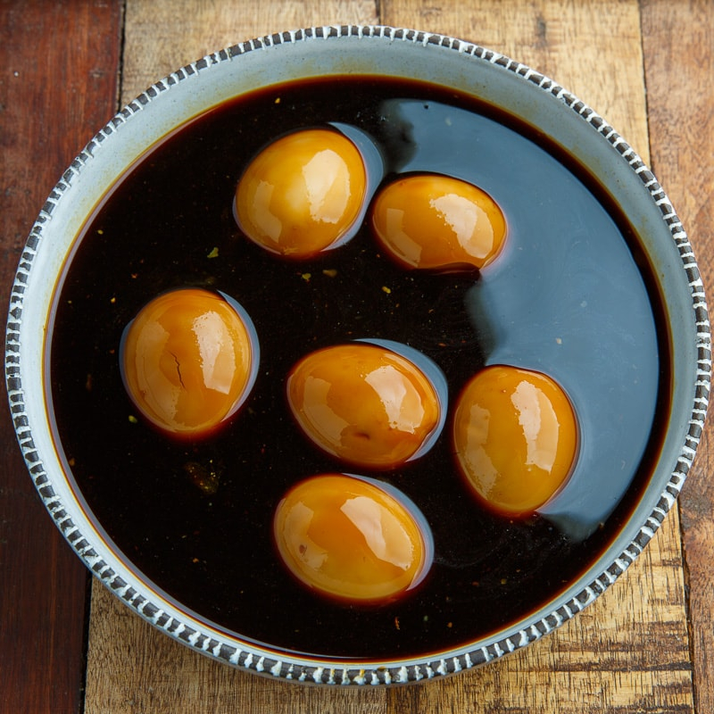 Eggs Cured in Soy Sauce