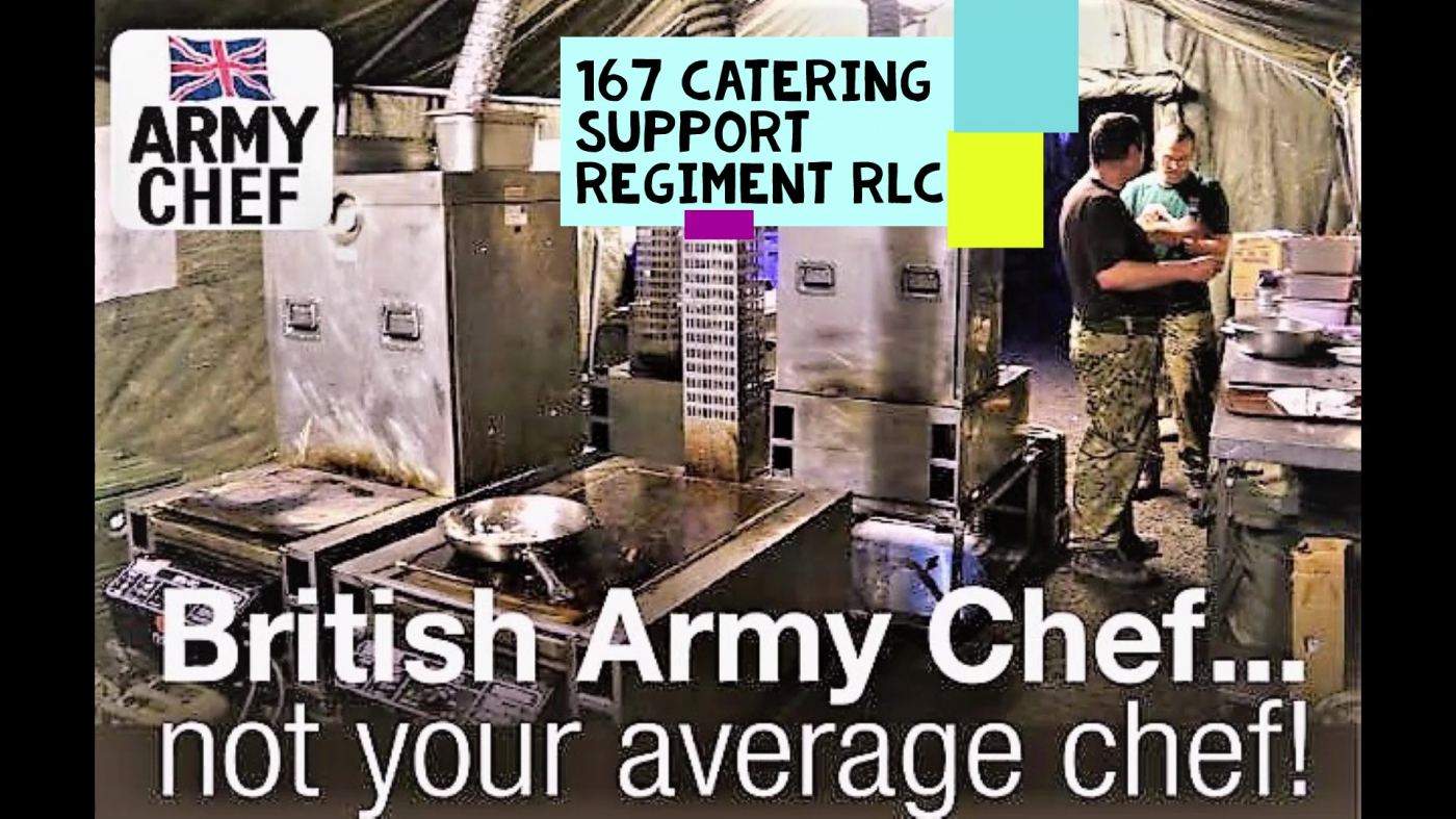 Not Just a Chef! Army Reserve Chef with 167.167armyreservechef.com 👍