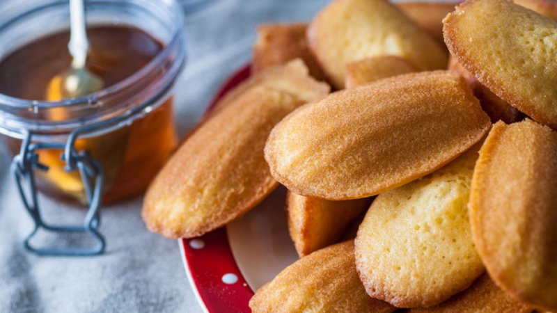 Madeleines Using Special Ingredients Invert Syrup