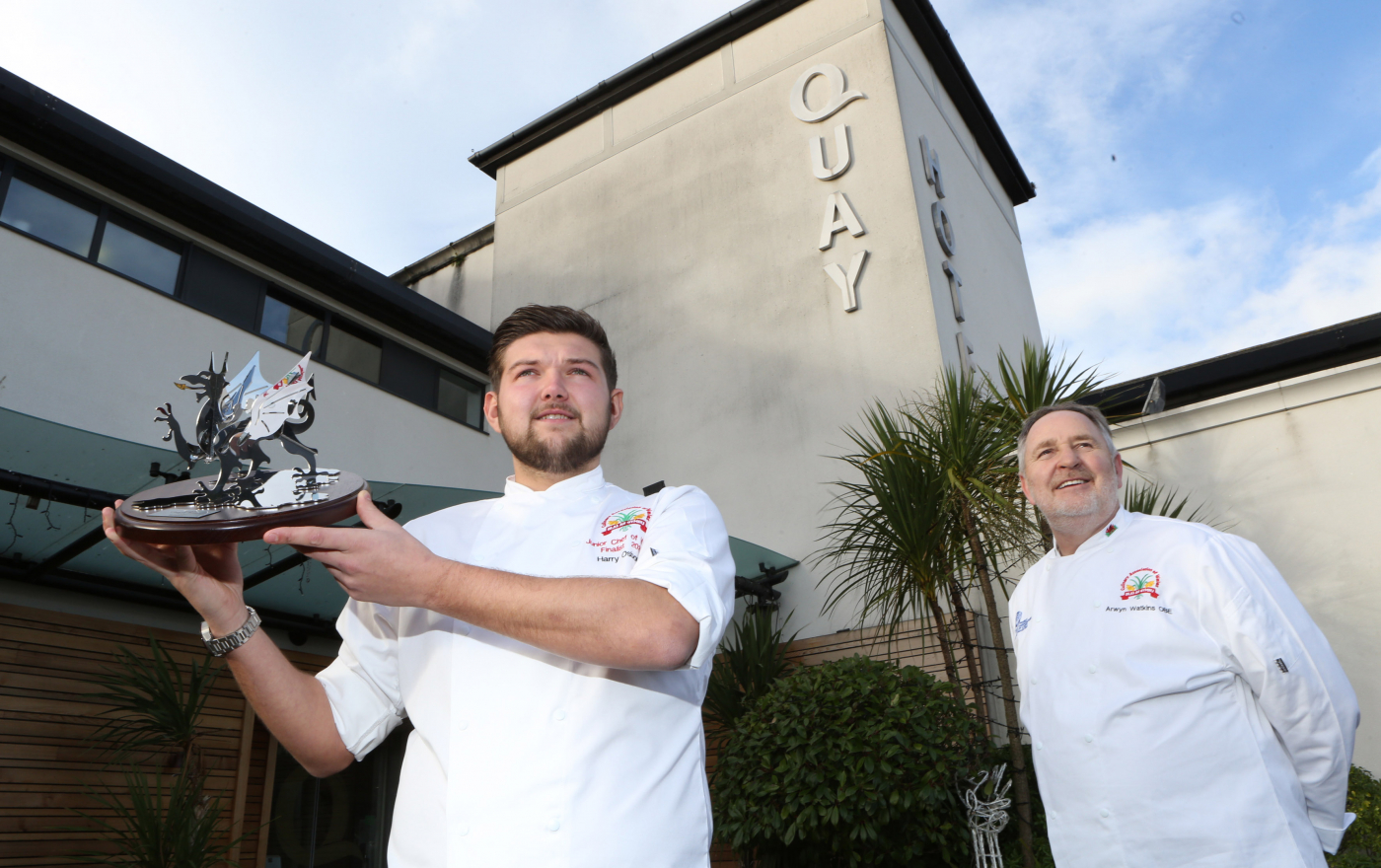 Talented Harry wins prestigious Junior Chef of Wales title