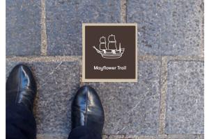 in ground floor marker