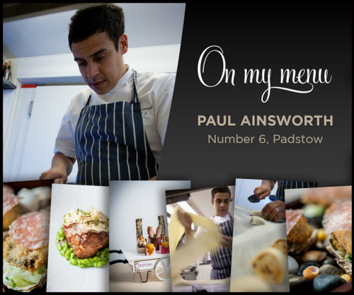 On My Menu Paul Ainsworth