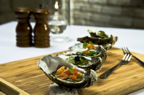 Trio Of Oysters 2