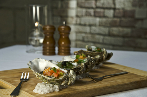Trio Of Oysters 4