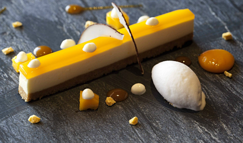 Vignotte Cheese Cake Classic Herd Yoghurt Mango Bubble Coconut Sorbet