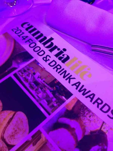 Had a great time at CumbriaLifeAwards was in top 3 in the young chef of the year but didn't win maybe next year great to be a finalist;)