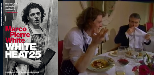Watch Marco Pierre White cook for Albert Roux