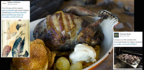 Glorious Twelfth: chefs' grouse images and recipes