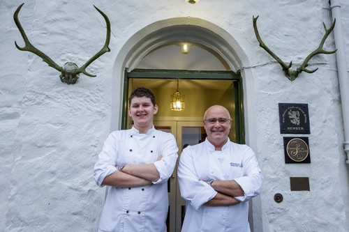 Kinloch Lodge reinforces its kitchen brigade with reappointment of top local chef