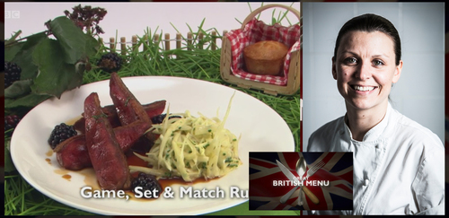 Great British Menu 2017 chefs - Pip Lacey, Central heat
