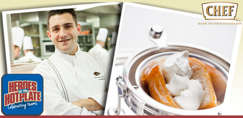 Jean-Philippe Blondet, executive chef, Alain Ducasse at The Dorchester