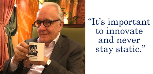 Alain Ducasse on 10 years at The Dorchester