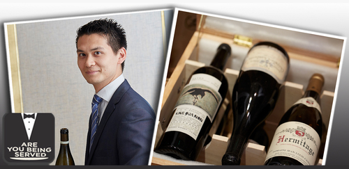 Mathias Camilleri, Head Sommelier of The Five Fields