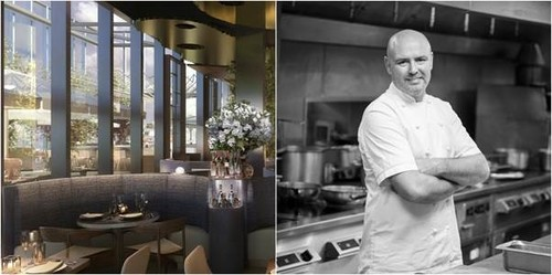 Chef Aiden Byrne's new venture in Manchester with D&D London