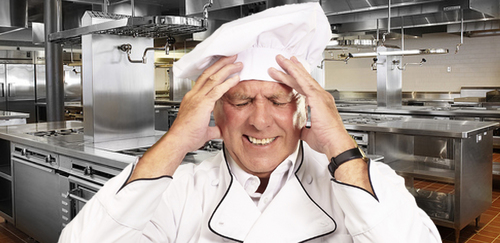 How does being a chef affect your mental health?