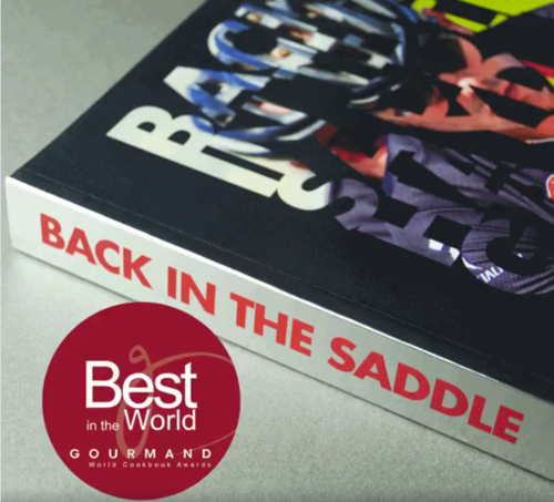"""Back in The Saddle"" By Face Publications to represent the UK in 3 categories at the prestigous Gourmand World Cookbook Awards"