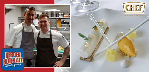 Dean Westcar, head chef, Restaurant Hywel Jones by Lucknam Park