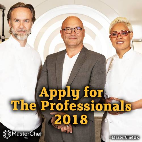 Applications are now open for MasterChef: The Professionals 2018