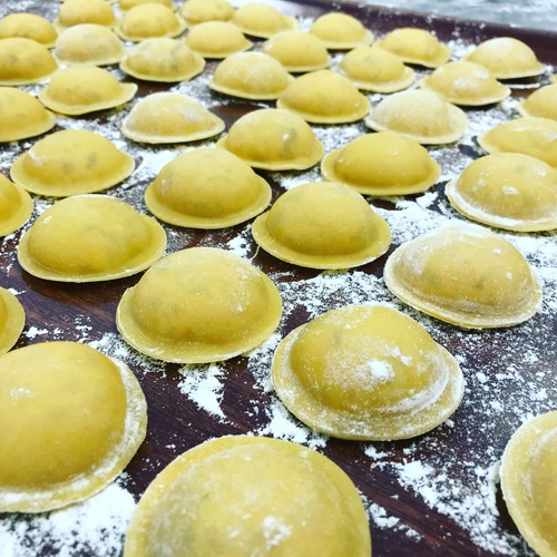 Lobster raviolo at the ready :punch_tone1::punch_tone1::punch_tone1: