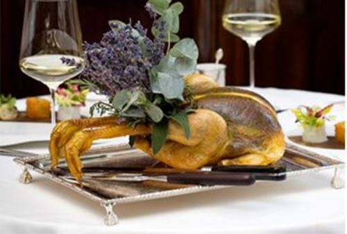 The Ultimate Roast Chicken Menu from Hélène Darroze at The Connaught returns to Mayfair