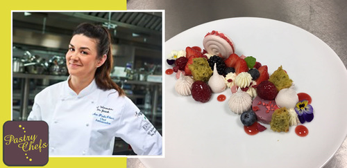 Ana Paula Oliver, Head of Pastry on site, Restaurant Associates