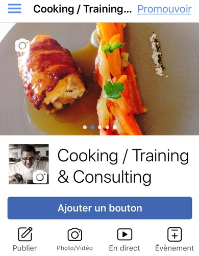 Cooking / Training & Consulting