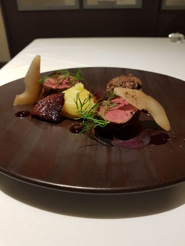 Venison, Beetroot, Chocolate
