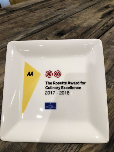 MasterChef Champion Simon Wood scoops 2 AA Rosettes for first Restaurant