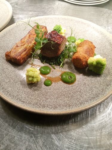 Trio of Irish lamb